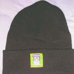 Online Ceramics Brown Beanie One Size Fits All